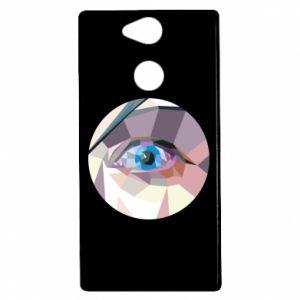 Etui na Sony Xperia XA2 Blue eye