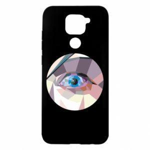 Etui na Xiaomi Redmi Note 9/Redmi 10X Blue eye