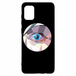 Etui na Samsung A31 Blue eye