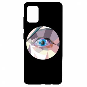 Etui na Samsung A51 Blue eye