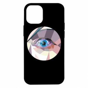 Etui na iPhone 12 Mini Blue eye