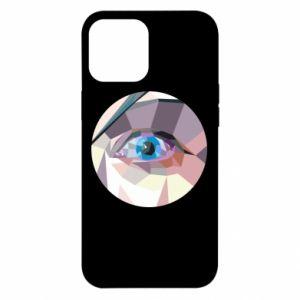 Etui na iPhone 12 Pro Max Blue eye