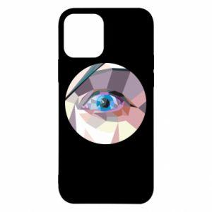 Etui na iPhone 12/12 Pro Blue eye