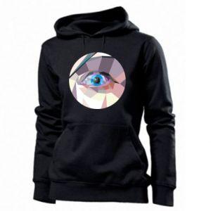Women's hoodies Blue eye - PrintSalon