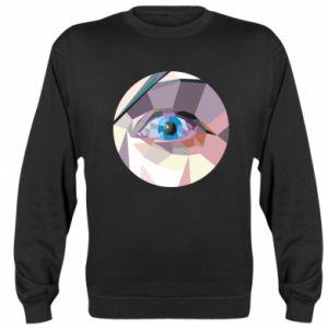 Sweatshirt Blue eye - PrintSalon