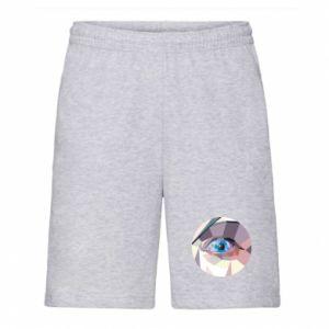 Men's shorts Blue eye - PrintSalon