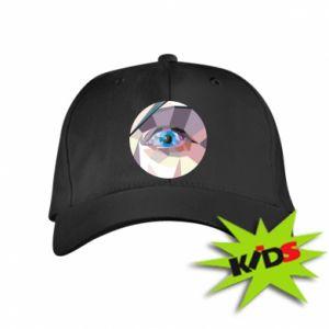 Kids' cap Blue eye - PrintSalon