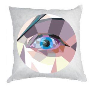 Pillow Blue eye - PrintSalon