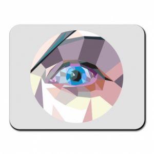 Mouse pad Blue eye - PrintSalon