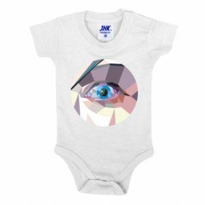 Baby bodysuit Blue eye - PrintSalon