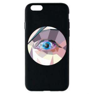 Etui na iPhone 6/6S Blue eye