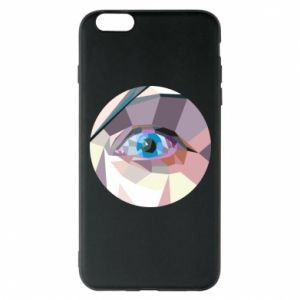 Phone case for iPhone 6 Plus/6S Plus Blue eye - PrintSalon