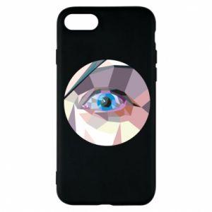 Etui na iPhone 8 Blue eye