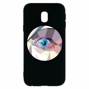 Etui na Samsung J3 2017 Blue eye