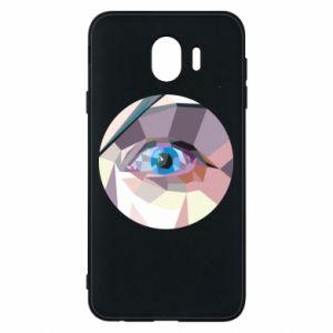Etui na Samsung J4 Blue eye