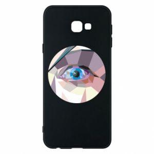 Phone case for Samsung J4 Plus 2018 Blue eye - PrintSalon