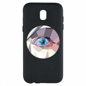 Etui na Samsung J5 2017 Blue eye