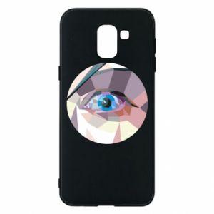 Etui na Samsung J6 Blue eye