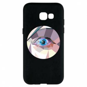 Etui na Samsung A5 2017 Blue eye