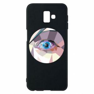 Phone case for Samsung J6 Plus 2018 Blue eye - PrintSalon