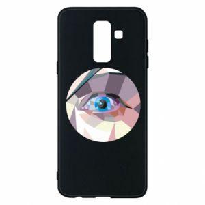 Phone case for Samsung A6+ 2018 Blue eye - PrintSalon