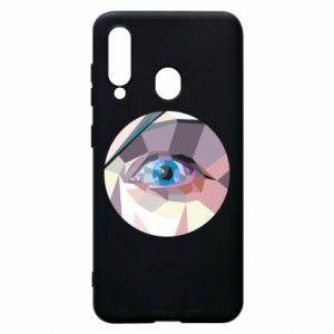 Etui na Samsung A60 Blue eye
