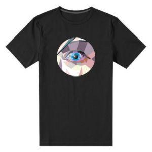 Men's premium t-shirt Blue eye - PrintSalon