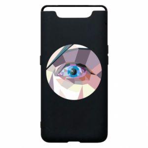 Phone case for Samsung A80 Blue eye - PrintSalon