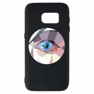 Phone case for Samsung S7 Blue eye - PrintSalon