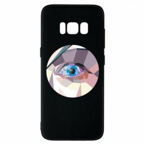 Phone case for Samsung S8 Blue eye - PrintSalon
