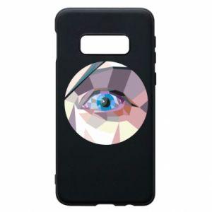 Phone case for Samsung S10e Blue eye - PrintSalon