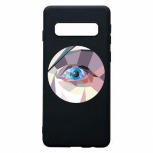 Phone case for Samsung S10 Blue eye - PrintSalon
