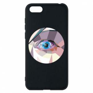 Phone case for Huawei Y5 2018 Blue eye - PrintSalon