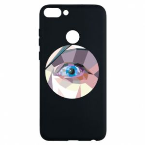 Phone case for Huawei P Smart Blue eye - PrintSalon