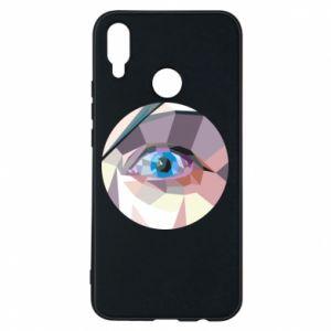 Phone case for Huawei P Smart Plus Blue eye - PrintSalon
