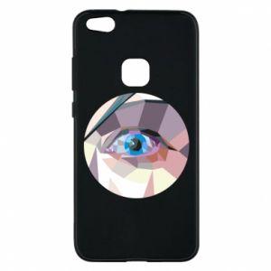 Phone case for Huawei P10 Lite Blue eye - PrintSalon