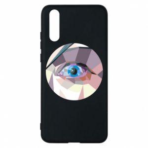 Phone case for Huawei P20 Blue eye - PrintSalon