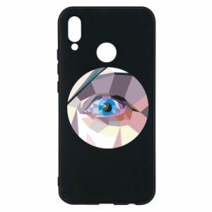 Phone case for Huawei P20 Lite Blue eye - PrintSalon