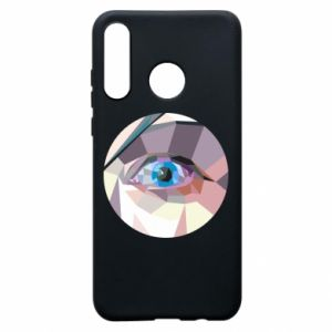 Phone case for Huawei P30 Lite Blue eye - PrintSalon
