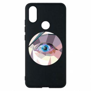 Phone case for Xiaomi Mi A2 Blue eye - PrintSalon