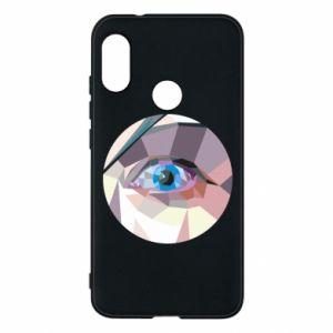Phone case for Mi A2 Lite Blue eye - PrintSalon