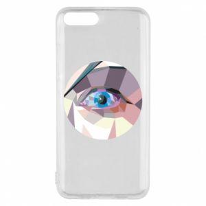 Phone case for Xiaomi Mi6 Blue eye - PrintSalon