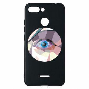 Phone case for Xiaomi Redmi 6 Blue eye - PrintSalon