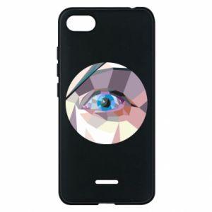 Phone case for Xiaomi Redmi 6A Blue eye - PrintSalon