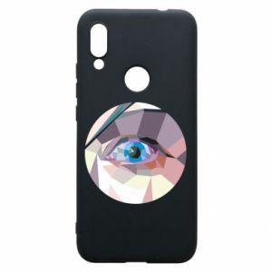 Phone case for Xiaomi Redmi 7 Blue eye - PrintSalon
