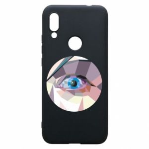 Etui na Xiaomi Redmi 7 Blue eye