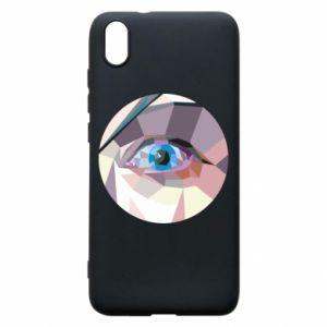 Phone case for Xiaomi Redmi 7A Blue eye - PrintSalon
