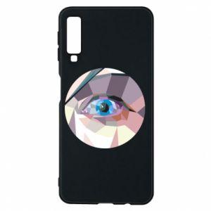 Etui na Samsung A7 2018 Blue eye