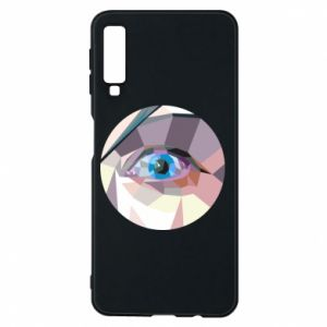 Phone case for Samsung A7 2018 Blue eye - PrintSalon