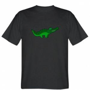 Koszulka męska Blue-eyed crocodile